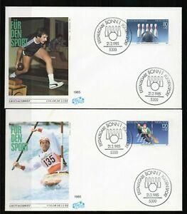Alemania / Germany / Sobre Primer Día -  FDC año 1985