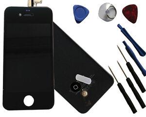 Reemplazo-Lcd-Pantalla-Tactil-para-iPhone-4S-Negro-incl-Tapa-Trasera