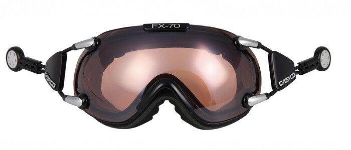 Casco Skibrille FX 70 VAUTRON black, Größe  M, inklusive Hardschale