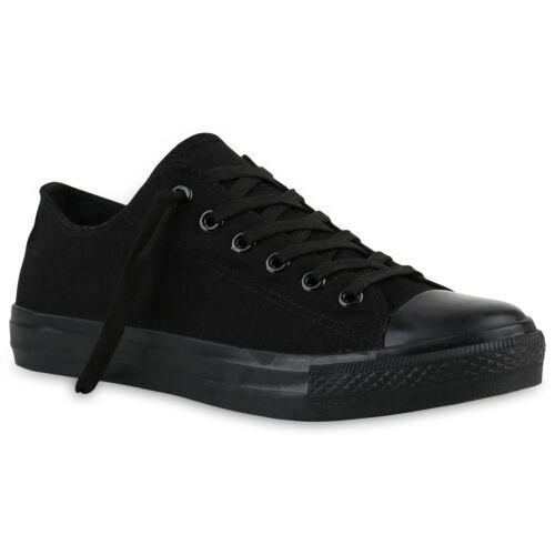Herren Damen Kinder Sneakers Stoffschuhe Schnürer Freizeit Schuhe 816744 Top