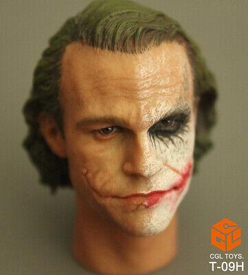 "Hot Batman Making The Joker Up 1//6 Custom Head Sculpt Toys F 12/"" Man Body Figure"