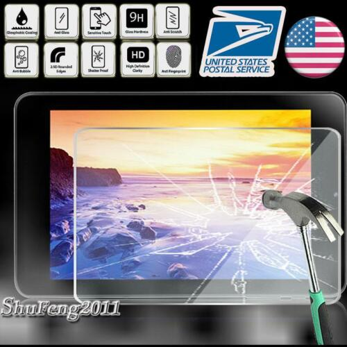 Tablet Tempered Glass Screen Protector Cover For iRULU eXpro X4 Plus