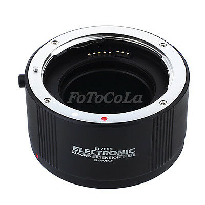 Electronic auto focus macro extension tube 36mm EF-36 DG II f Canon EOS EF EF-S