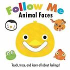 Follow Me: Animal Faces by Frankie Jones (Board book, 2016)
