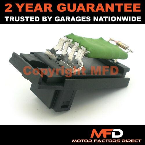 2002-2005 FORD FOCUS MK1 1.8 TDCI 100 DIESEL HEATER BLOWER MOTOR FAN RESISTOR