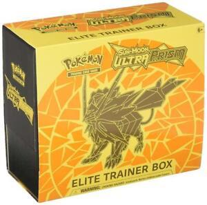 Sun & Moon Ultra Prism Elite Trainer Box Dusk Mane Necrozma Pokemon TCG Sealed