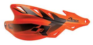 Coppia-Paramani-Racetech-Raptor-Arancio-Fluo-Enduro-Motard-Rtech-Handguards