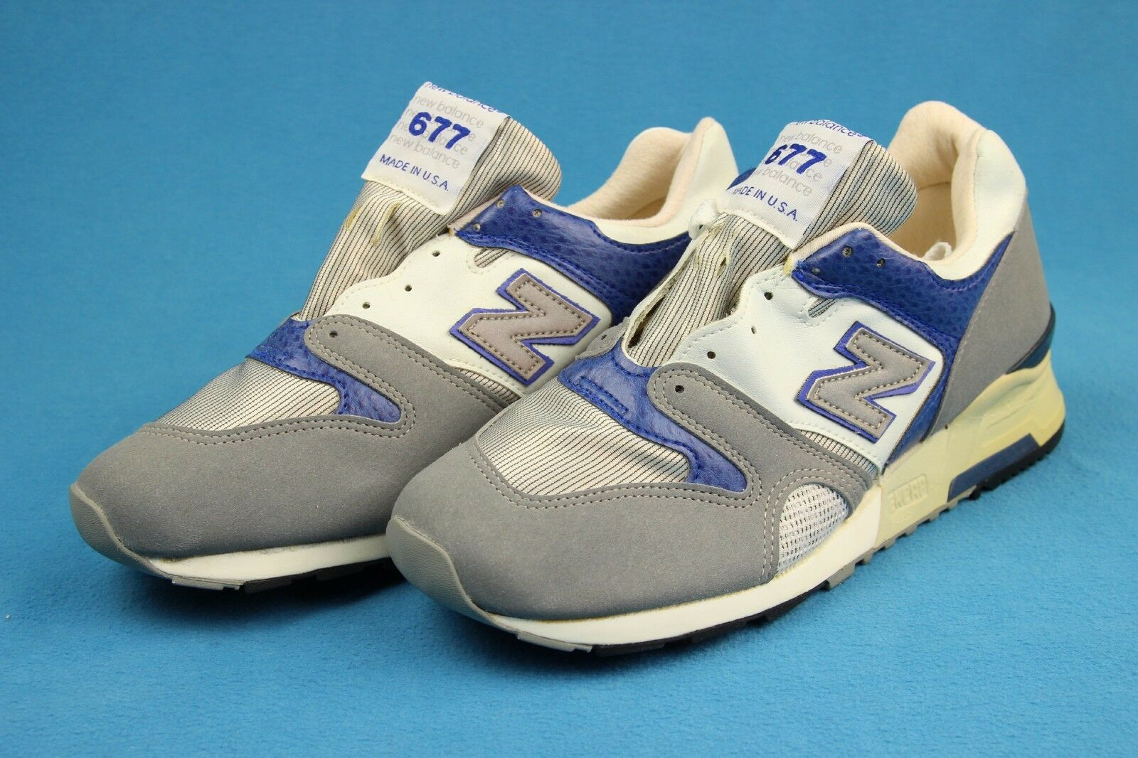 Vintage NEW BALANCE 667 Deadstock shoes  NOS  USA Made Running Sneakers Sz 8.5