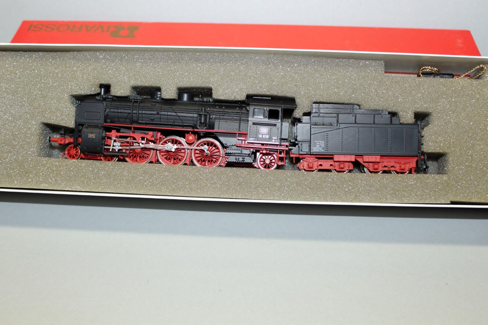 RIVAROSSI 1363 locomotiva serie siano 18 616 DB traccia h0 OVP