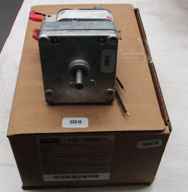 DAYTON 1LNF7 AC Gearmotor,4 rpm,Open,115V