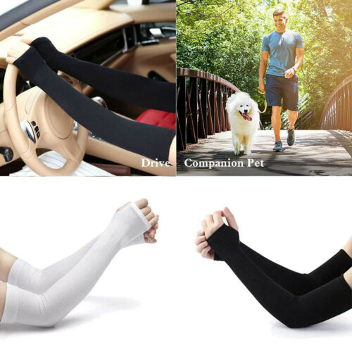 Cooling Arm Sleeves Cover UV Sun Protection Outdoor Sports Unisex Basketball Arm