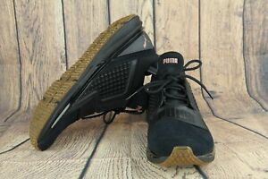 0df31908c58d Image is loading Puma-IGNITE-Limitless-Suede-Training-Shoes-Black-19059301-
