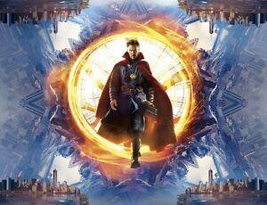Poster A3 Marvel Doctor Strange Doctor Extraño Pelicula Film Cartel Decor 03