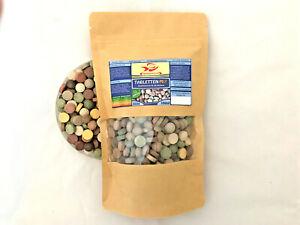 Futtertabletten-12-Sorten-Mix-350g-Tabletten-Futter-0-5-Liter-TUTE-Aquarium