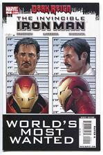 Invincible Iron Man 9 A Marvel 2009 VF Dark Reign