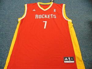 new style f71ca bc146 Details about ADIDAS REVOLUTION 30 NBA HOUSTON ROCKETS JEREMY LIN JERSEY  SIZE XL