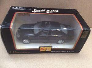 Maisto-1998-Mercedes-Benz-Classe-S-auto-Scala-1-26