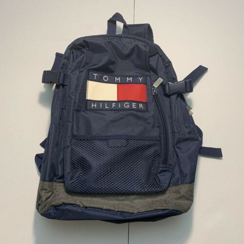 Vintage TOMMY HILFIGER Spell Out Flag Patch Book B