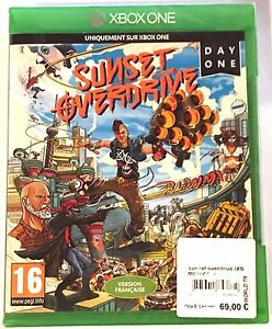 SUNSET-OVERDRIVE-DAY-ONE-EDITION-Neuf-sous-blister-Jeu-XBOX-ONE