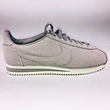 9fbf62867bd1 item 4 Nike Classic Cortez SE Suede Dust Gray & White Running Sneaker 902801 -003 Size 8 -Nike Classic Cortez SE Suede Dust Gray & White Running Sneaker  ...