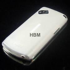 Silikon Case Samsung S8530 Wave 2 hintere Schutzhülle transparent Handy Tasche