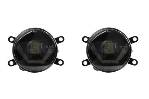 Luces antiniebla LED Luces de conducción diurna Black Cree Chip Dacia Duster LSW4