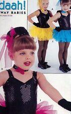 NWOT FAUX SEQUIN TRIMMED TUTUS CHILD SIZES DANCE BATON COLORS GIRLS