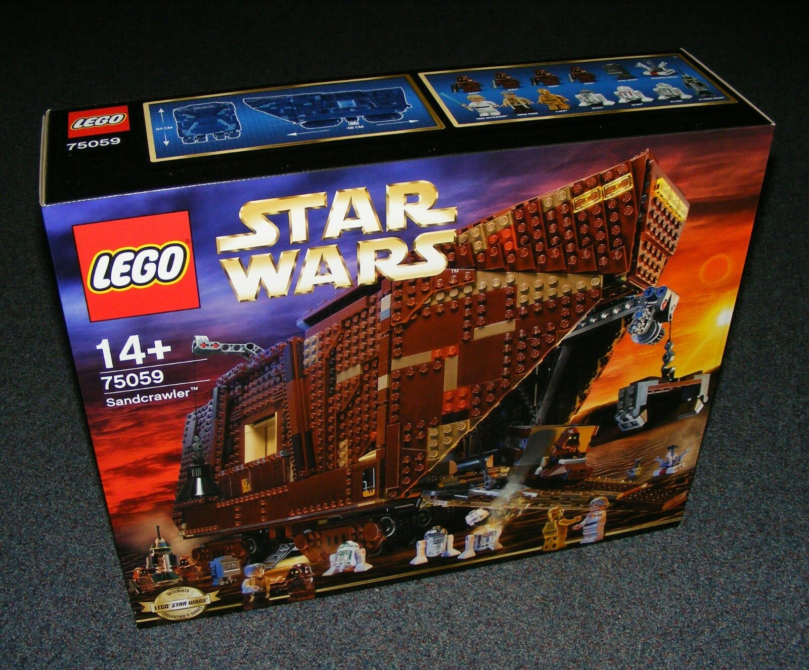 STAR WARS LEGO 75059 SANDCRAWLER UCS BRAND NEW SEALED ULTIMATE COLLECTORS