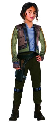 Rogue One Deluxe Jyn Erso Child Costume Green 630299 Rubies