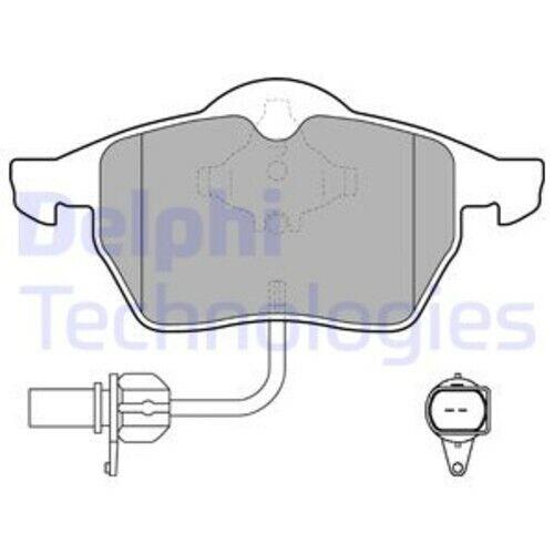 Delphi Disques de frein garnitures avant ø288 Audi a4 a4 cabriolet Seat 3396047