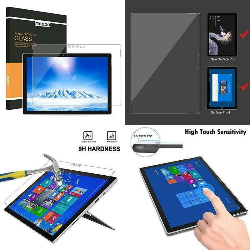 Megoo Surface Pro 6 Screen Protector 2018 Tempered Glas