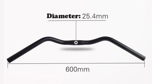 FMF Bicycle Swallow Handlebar M Type Aluminum 31.8//25.4 *640//600mm City Bike
