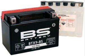 Batteria-Batteria-starter-BTX9-BS-12-V-8-AH-MTF-NON-RICHIEDE-MANUTENZIONE-DIN