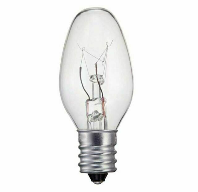 Philips 133876 Clear 15 Watt C7 1 2