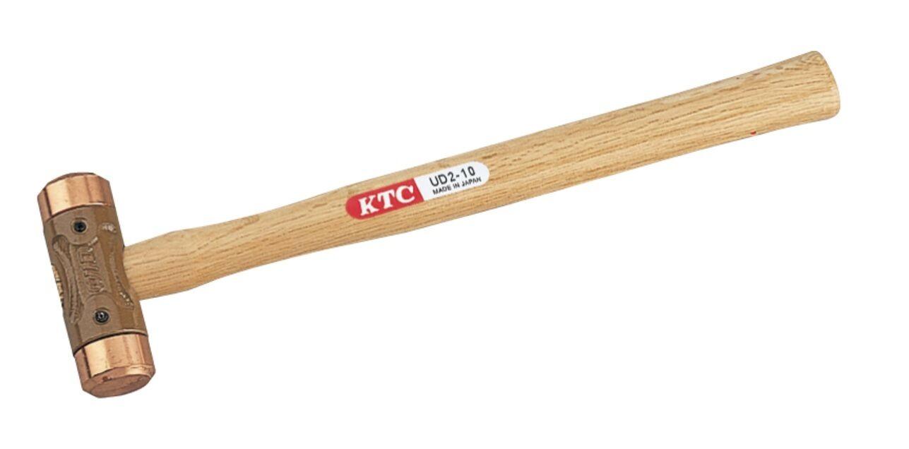 KTC   1 POUND COPPER HAMMER WOOD GRIP   UD2-10   MADE IN JAPAN