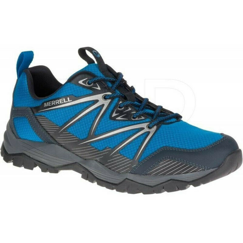 Mens  Merrell Capra Rise Mens Walking shoes - blueee  online-shop