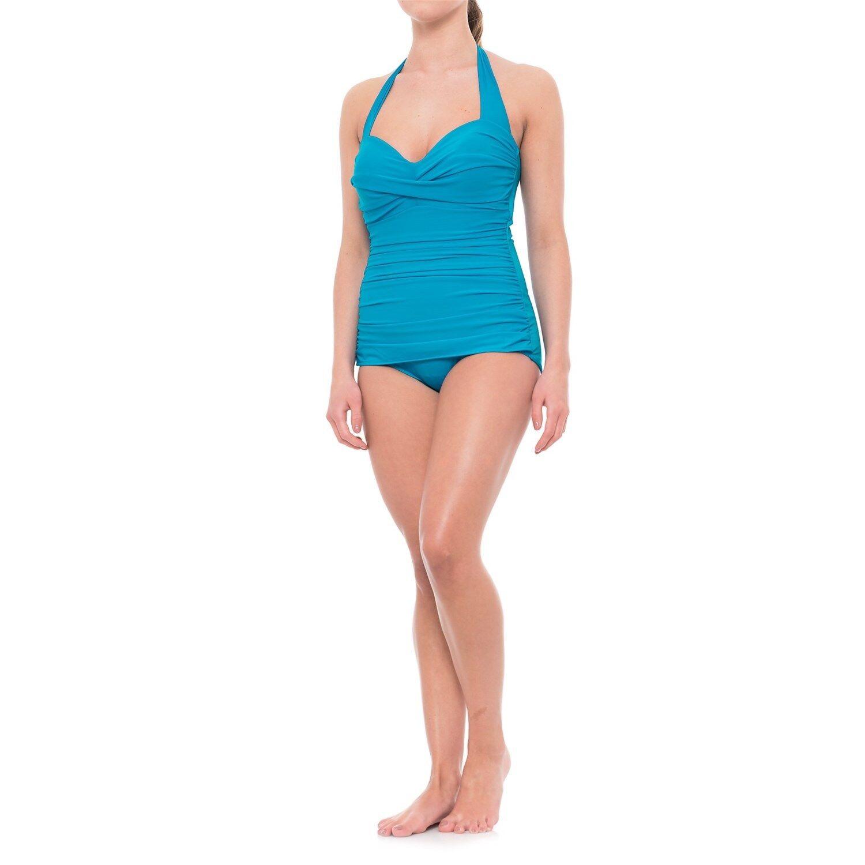 NEW MAGICSUIT 18 48 MIRACLESUIT Caitlin SWIMSUIT  150 Retail bluee