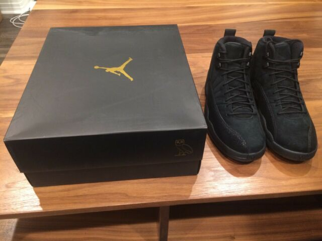 119e6a9ca6e Air Jordan 12 Retro OVO Black Men s Size 11 (Brand New with ...