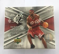 2005-06 Upper Deck SPx Basketball Sealed Hobby Box Michael Jordan Lebron Auto?