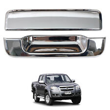 For 06-11 Mazda Bt50 Bt-50 Pickup Ute Tailgate Handle Cover Trim Chrome Pair