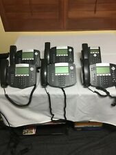 Polycom Soundpoint Ip 550 Sip 6 Phones With Power Supply