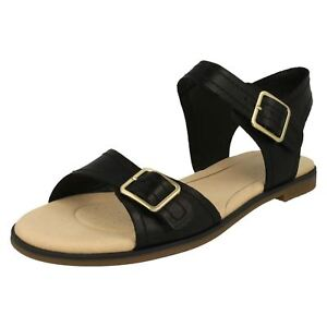 e2ba31ff4f8b Image is loading CLARKS-LADIES-SANDALS-BAY-PRIMROSE-BUCKLE-FASTENING-D-