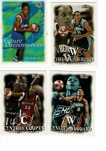 1999 Fleer Hoops WNBA 110 COMPLETE Card Set - *Please read informative message