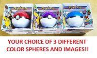 Collector Pokemon Xy Red Blue Purple Sphere Tin Puzzle 100pc 3 Different Designs
