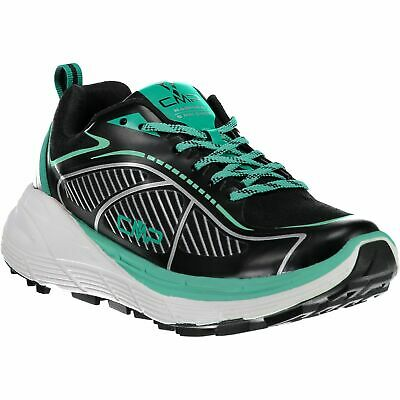 Accurato Cmp Scarpe Da Corsa Scarpe Sportive Nashira Maxi Wmn Trail Shoe Nero Tinta Mesh-