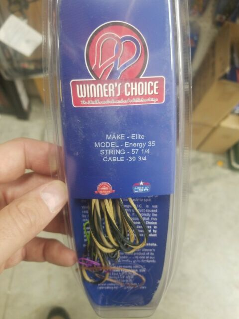 Winners Choice String /& Cable for Elite Spirit