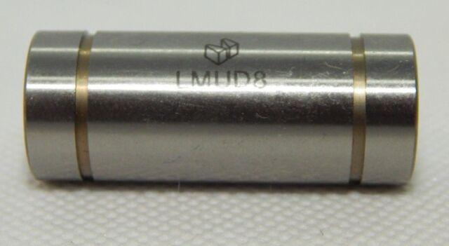 #LMUD8 NEW MiSUMi LMUD8 Linear Bushings-Stainless 36.86mm Lg x  14.85mm Rd