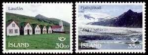 Courageux Islande 1995 Pays Nordiques Postal Co-operation, Tourisme, Vues Neuf Sans Charnière/hank