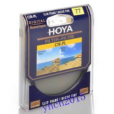 Hoya 77mm Circular Polarizing CIR-PL CPL FILTER fit for Canon Nikon Sony Lenses