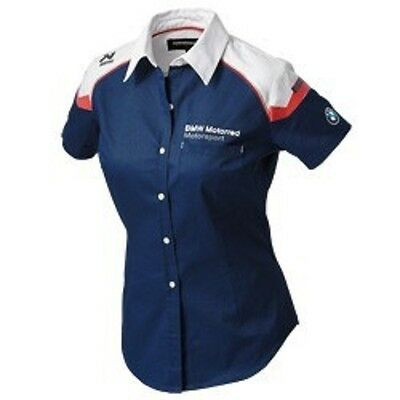 New BMW Motorrad Motorsport Ladies Blouse (Official BMW Apparel)